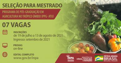 mestrado em Agricultura no Trópico Úmido
